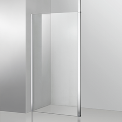 SALLY F010 Wail in Wetroom Shower Room Enclosure Panel with Wall bracket
