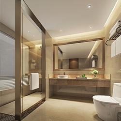 SALLY B2236-1 Prefabricated bathroom with steel frame and tile finish