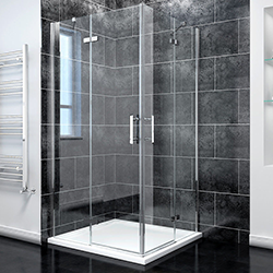 SALLY AWH71F4 Square Semi-frame Pivot Hinge Shower doors