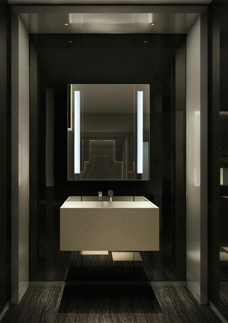 Sally TBM003 Sensor Touch LED Bathroom Mirror Light Demister