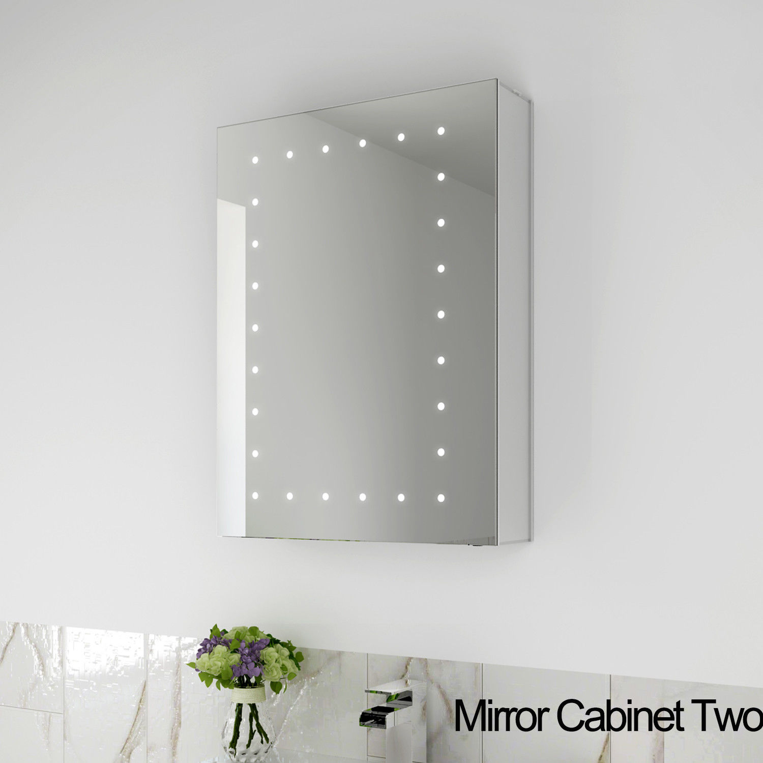 SALLY MC3550L LED Mirror Cabinet light up Bathroom vanity